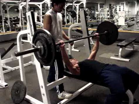 Bench Press 190 Lbs For 7 Reps Form Check Youtube