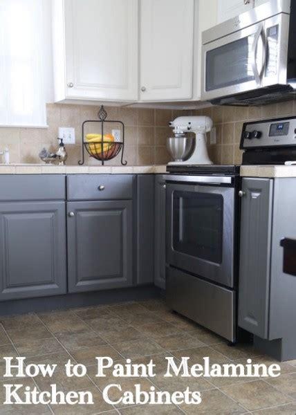 vinyl flooring wood look painting melamine kitchen cabinets the decorologist