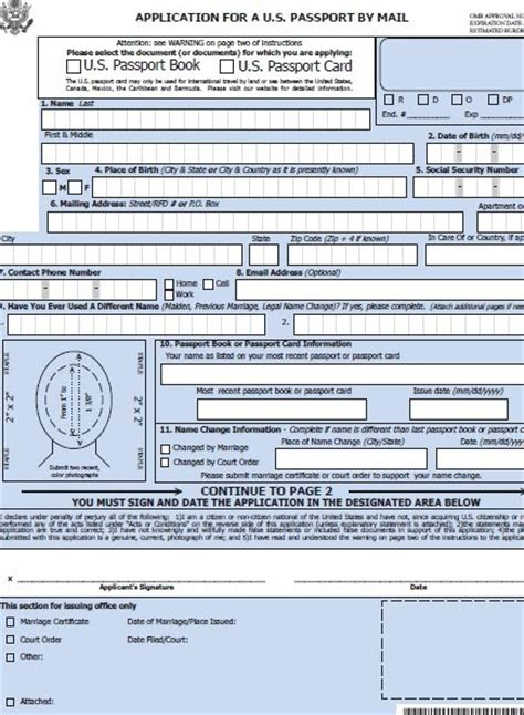 us passport expired renewal form application form application form to renew canadian passport