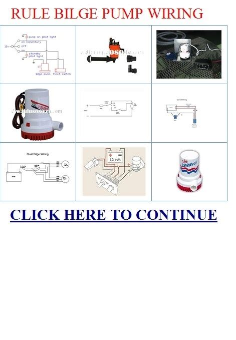rule bilge pump wiring diagram wiring diagram