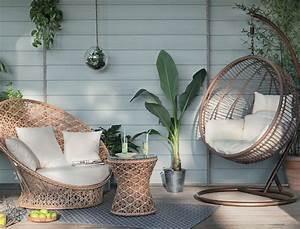 Salon Exterieur Design : salon de jardin design nature ou color les nouveaut s 2016 femme actuelle ~ Teatrodelosmanantiales.com Idées de Décoration