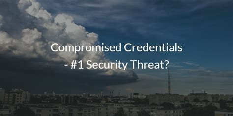 compromised credentials  security threat jumpcloud
