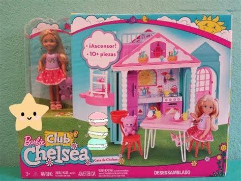 Barbiela Casita Club De Chelsea! (2017) Dollhouse Review