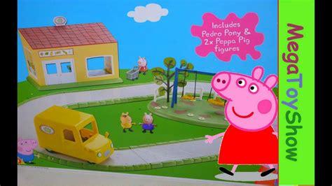 Peppa Pig Supermarket Playset [peppa Pig Shopping Toys] Youtube