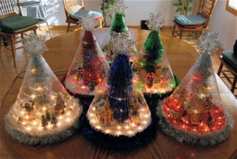 christmas tree from fishing line tutorial fishing line trees crafts