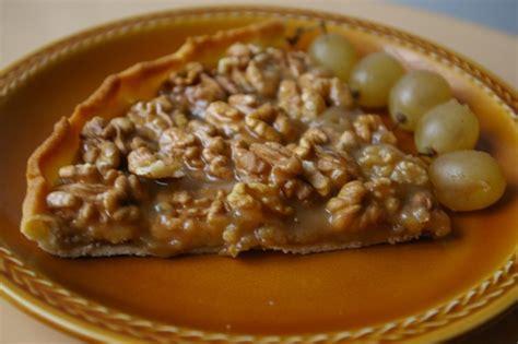 recette de tarte aux noix et au caramel la recette facile