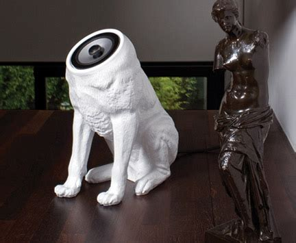 headless dog speakers   crazy cat lover slashgear