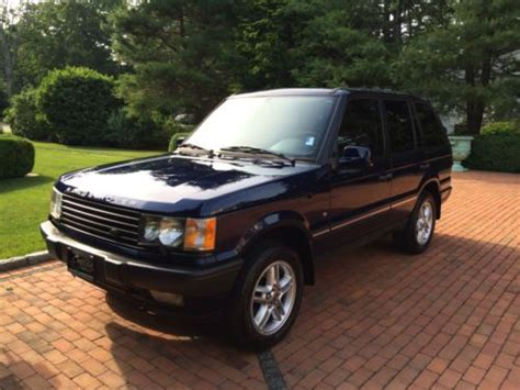 2002 Range Rover Hse by Sell Used 2002 Land Rover Range Rover Hse 4 6l Low