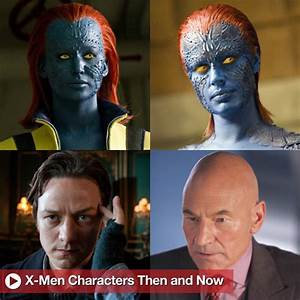 X-Men: First Class Character Pictures From Past and ...