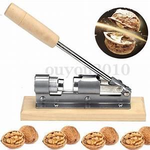 Heavy Duty Easy Manual Pecan Nut Cracker Nutcracker Nut