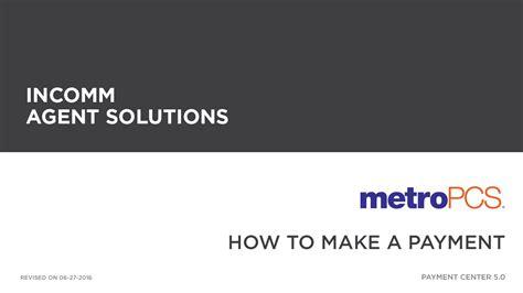 Metropcs  Make Payment Youtube