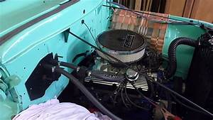 1955 Ford F 100 Mustang 302 Engine First Start