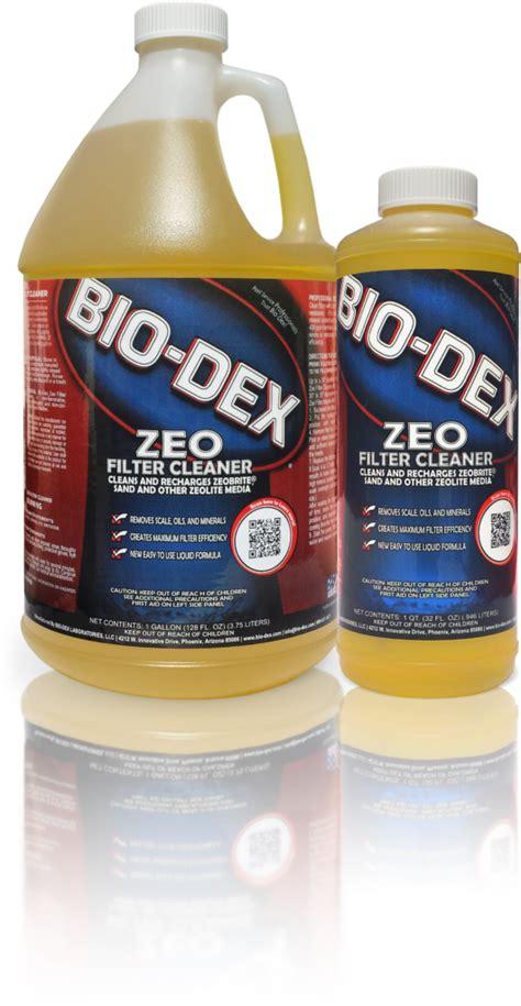 zeo filter cleaner bio dex laboratories llc