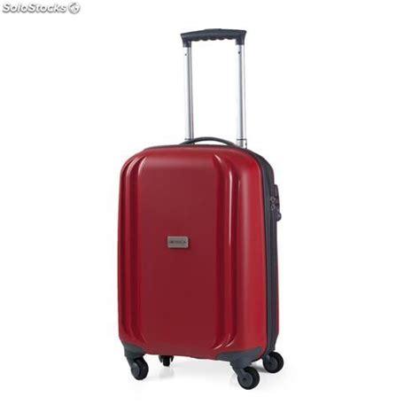 valigia trolley da cabina  polipropilene rosso