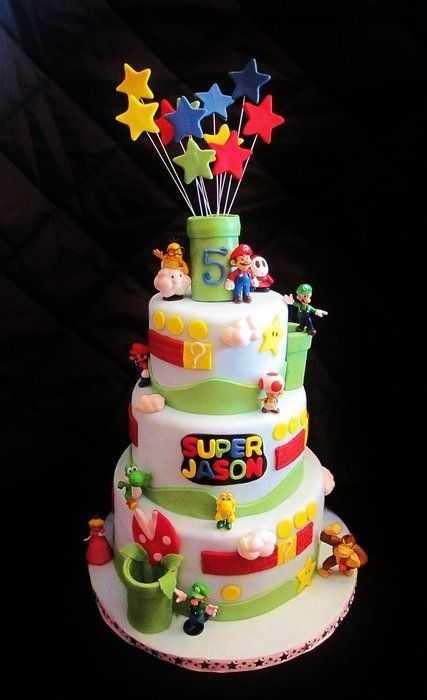 top  awesome super mario cake designs slicontrolcom