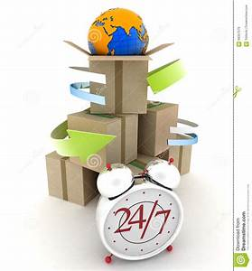 Executing Online Delivery Of Goods In The Stream 24 Hours ...