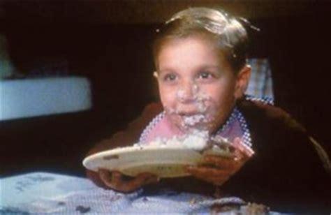 happy pig eating chocolate cake photoshopbattles