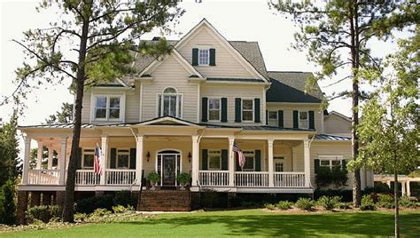 Wood American Style House Plans House Style Design