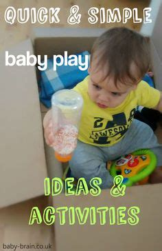 Activities For Babies On Pinterest  Baby Play, Discovery Bottles And Activities For Babies