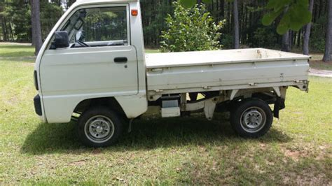 4x4 Japanese Suzuki Mini-truck. 100% Road Legal With Title