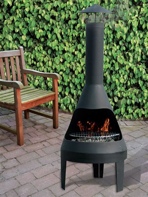decoration chemine d extrieur brasero barbecue