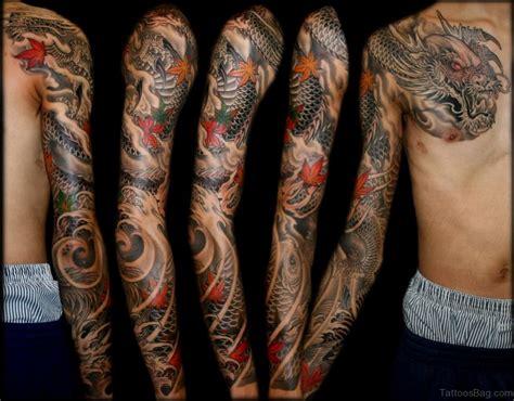 50 Best Dragon Tattoos On Full Sleeve