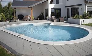Piscine En Kit Enterrée : piscine enterr e en kit indrapool albig s monter soi m me ~ Melissatoandfro.com Idées de Décoration