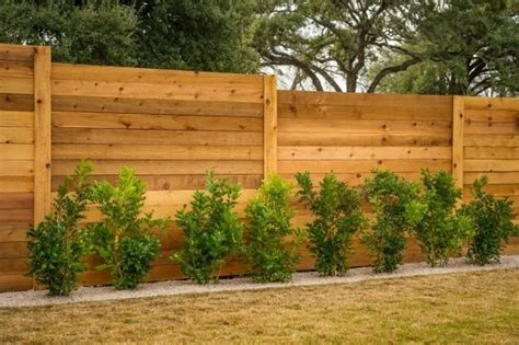 Horizontal Fence Designs