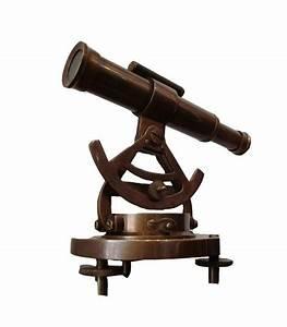 Buy Brass Telescope Alidade Compass online sale at eraKart