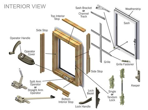 pella window parts casement window operators crank roto gear hardware ot   left