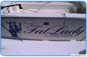 next day signs vehicles signs fleet graphics boat With boat lettering tampa