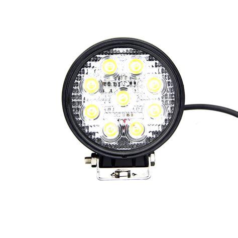 4 round led lights round led work light 4 inch 27 watt tuff led lights