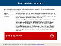 Bain Cover Letter Structure Your Consulting Cover Letter Should Only Cover Letter Consulting Firm Perfect Christmas Example Of Creative Cover Letter Cover Letter Templates Bains Cv Ffdmarg B Sample Cohen Posel Fake Lawyer Letter