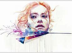 Paintings By Silvia Pelissero purple woods