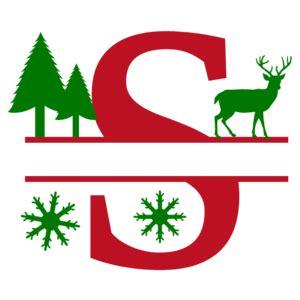 christmas clip art alphabet letters  personalize  designs patterns monograms