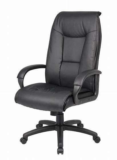 Chair Boss Padded Leather Executive Arm Exec