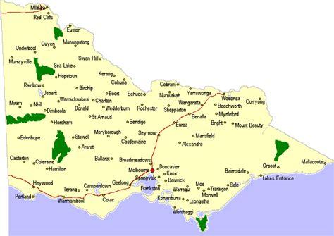 australia map victoria