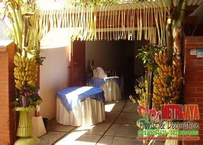 dekorasi indoor tema etnik tradisional