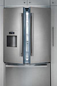 bosch double door fridge   appliances  auckland stainless steel