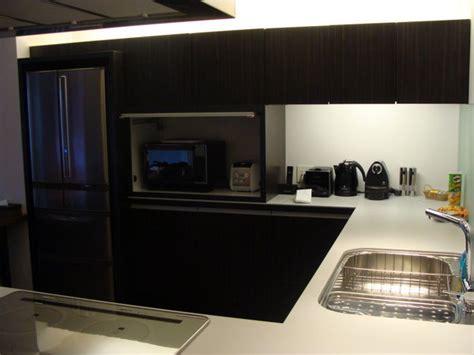 kitchen   hotel room photo