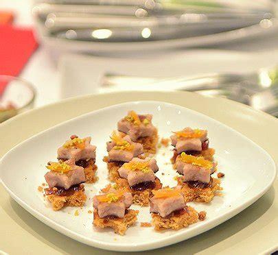 toasts boudin blanc et confit d oignons recettes de
