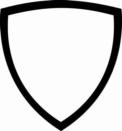 Shield Clipart Icon Transparent Monochrome Cliparts Pikachu