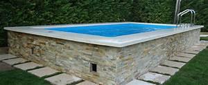 Piscine Hors Sol : dolce vita gold piscine hors sol by laghetto aquarev ~ Melissatoandfro.com Idées de Décoration