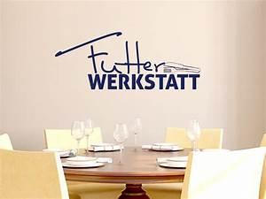 Sprüche Für Die Küche : wandtattoo tattoo wandaufkleber f r k che spruch futter ~ Watch28wear.com Haus und Dekorationen