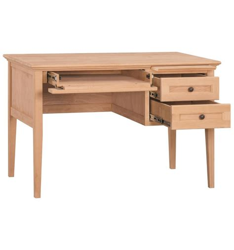 wood 1 drawer 60 inch writing desk 45 inch mckenzie 3 drawer desks wood you furniture