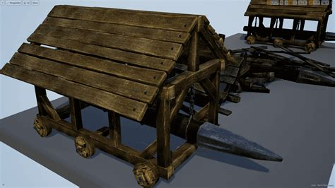 siege nomade b siege weapons by mr necturus in weapons ue4