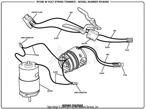 Homelite Volt String Trimmer Parts Diagram For