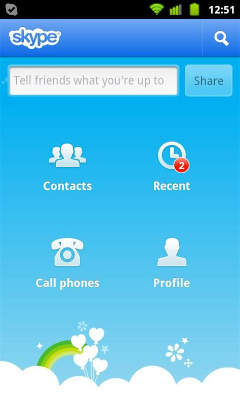 Hotmail Mobile Site Android by Telecharger Skype 2013 Pour Sony Ericsson Xperia