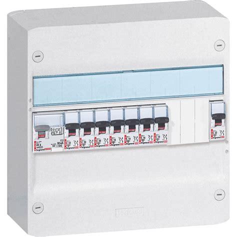 tableau electrique pour cuisine tableau électrique équipé et précâblé legrand 1 rangée 13 modules leroy merlin