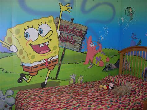 spongebob decorations for bedroom spongebob squarepants themed room design home decorating ideas home interior design
